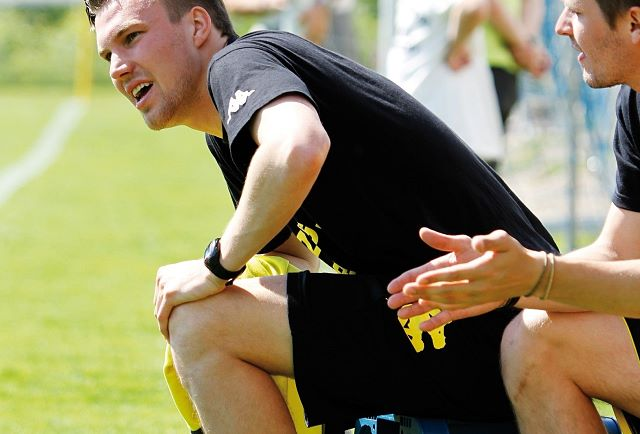 Kevin Großkreutz at the Cordial Cup