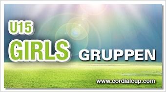 Gruppenauslosung U15 Girls 2017