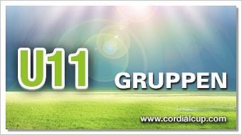Gruppenauslosung U11 2017