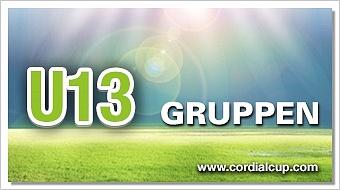 Gruppenauslosung U13 2017