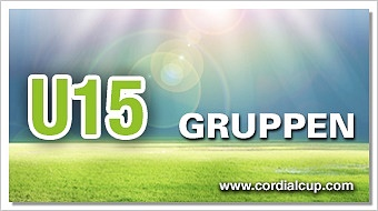 Gruppenauslosung U15 2017